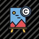 copyright, painting, art, artwork, drawing
