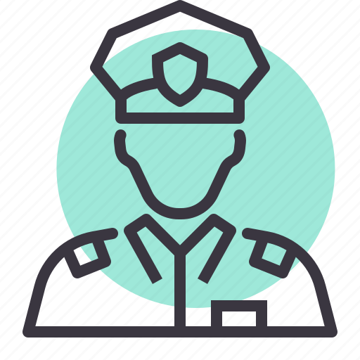 army, avatar, law, legal, military, officer, police icon