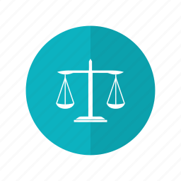 judge, justice, law, scale, weigher icon