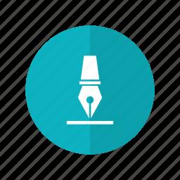 document, judge, law, legal, signature icon
