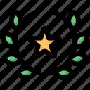 award, badge, justice, police, star