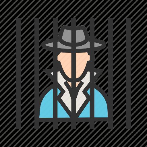 Arrested, criminal, defense, handcuffs, jail, justice, prison icon - Download on Iconfinder