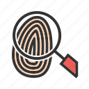 finger, fingerprint, logo, print, thumb, thumbprint, unique icon