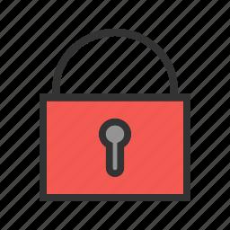 bars, jail, lock, locked, prison, safe, security icon