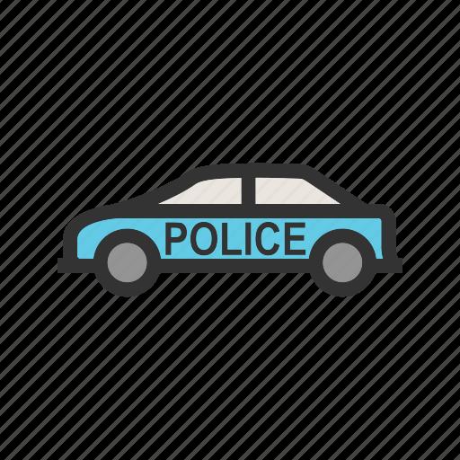 car, emergency, highway, police, security, van, vehicle icon