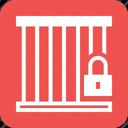 box, key, lock, locker, lockers, public, rooms icon
