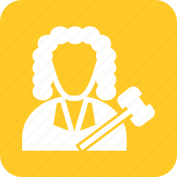 arbitration, court, crime, holding, judge, law, responsibility icon