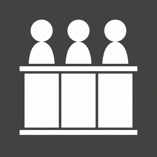 arbitration, court, holding, judge, law, panel, responsibility icon