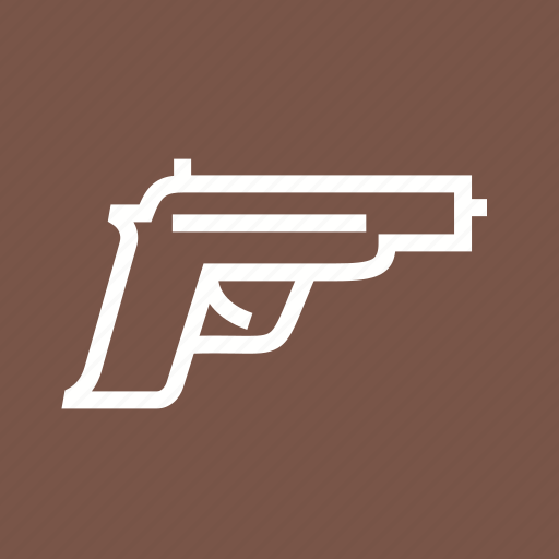 crime, danger, gun, pistol, pistols, weapon icon