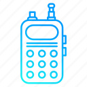 set, police, service, work, radio, law and police, speaker icon