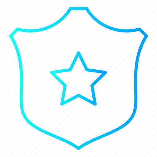 law and police, protection, safety, security, shield icon