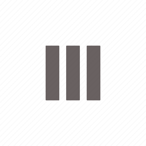 column, interface, layout, three icon