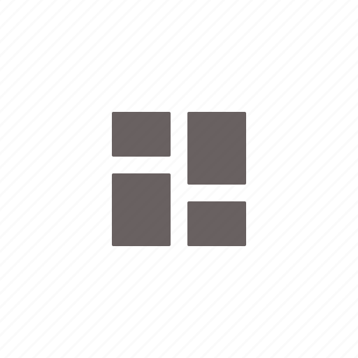 alternating, card, columns, fluid, grid, layout, tumblr icon