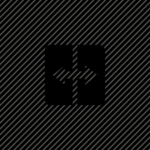 canvas, design, grid, layout, metrics, width, wireframe icon