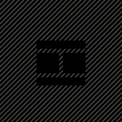 columns, footer, grid, header, layout, wireframe icon