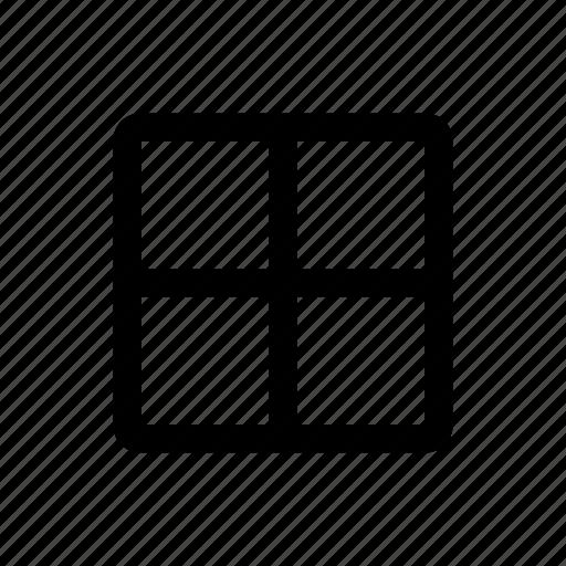 grid, raster icon