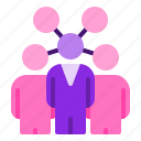 business, company, group, influencer, teamwork icon