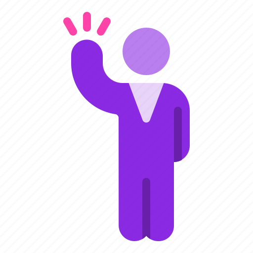 business, employee, intuitive, man, suit icon