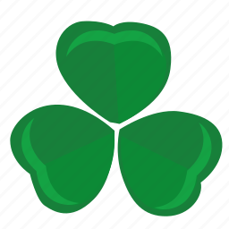 clover, green, label, leaf, sign icon