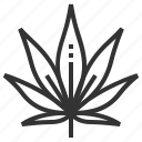 leaf, leaves, marijuana, nature, plant, tree icon