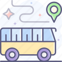 traveling, bus, tour