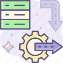 value stream, process, flow, workflow