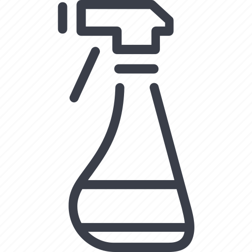 cleaner, cleaning, dust, house, soap, spraying icon