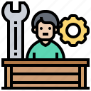 experiment, learning, perform, practice, test icon