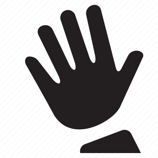 drawn, gesture, hand, interaction, raised, touch icon