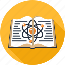 atom, book, education, knowledge, physics, school, science