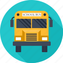bus, car, school, transport, travel, trip, vehicle icon