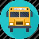 bus, car, school, transport, travel, trip, vehicle