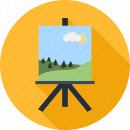 art, artboard, canvas, education, paint, painting, picture icon