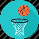 basketball, education, pe, physical, school, sport, team icon