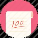 full, full marks, examination, papers, kaoshi icon