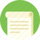 notes, work, note, record, paper, green, study icon