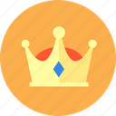 crown, gem, honorable, imperial crown, privilege, vip icon