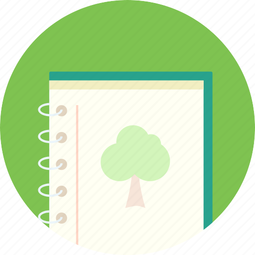diary, grow up, growing diary, record, tree icon