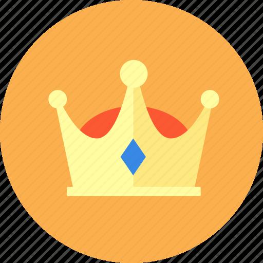crown, gem, honorable, imperial crown, privilege, vip icon