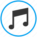 download music, media, music, play, search music, share music, video icon
