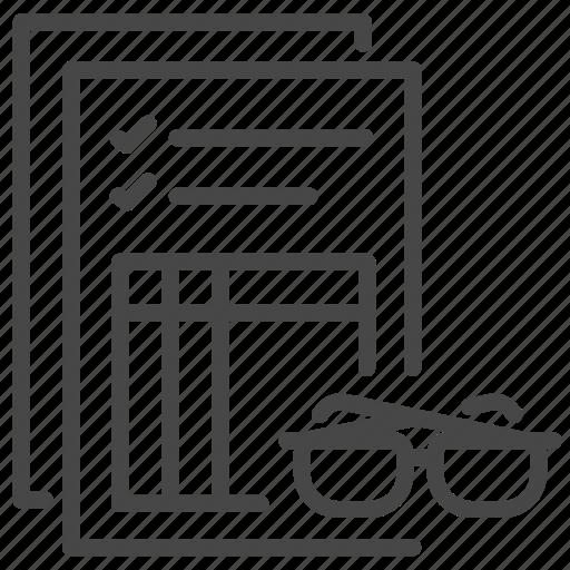 Audit, auditing, law, legal, obligation, obligations icon - Download on Iconfinder