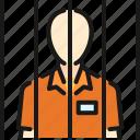 cage, convict, crime, criminal, jail, prisoner, punishment
