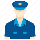crime, enforcement, law, officer, police, safety, security icon