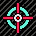 crosshairs, focus, gps, target