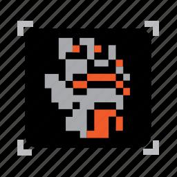 gloves, pixel icon