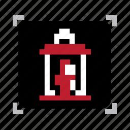 lentern, pixel icon