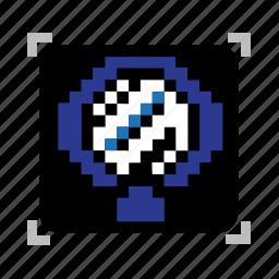 mirror, pixel icon
