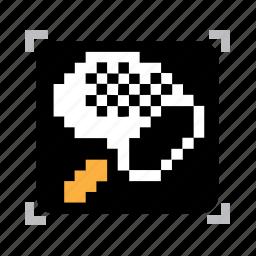 net, pixel icon