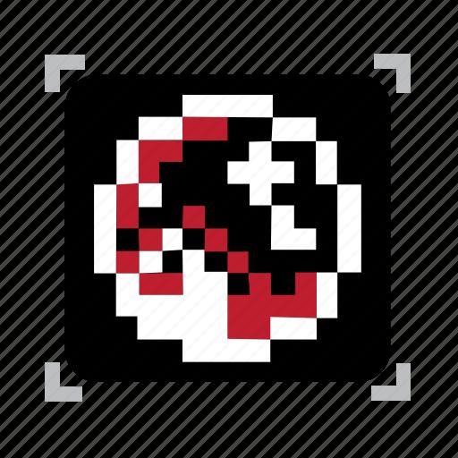 orb, pixel icon
