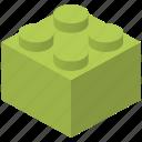 piece, toy brick icon